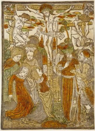 "Lower Rhenish or Netherlandish, ca. 1480, <i>Calvary</i>, National Gallery of Art, Washington""><br /> </p> <p class="