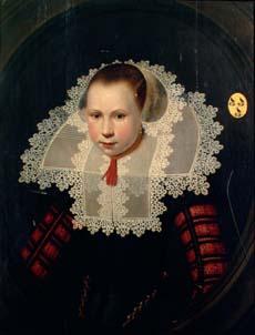Portrait of woman from the de Looper family. Middelburg, Zeeuws Museum