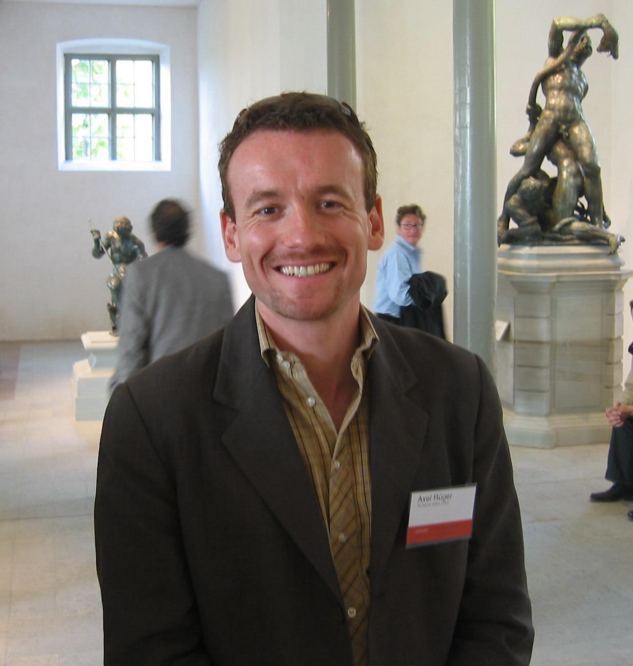Axel Rüger on the CODART ACHT study trip to Sweden, September 2005