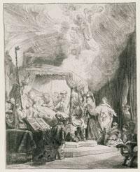 Rembrandt, Death of the Virgin, 1639, Poughkeepsie, Frances Lehman Loeb Art Center