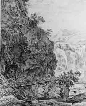 Willem van Bemmel, Rocky Italian landscape, Utrecht, Centraal Museum