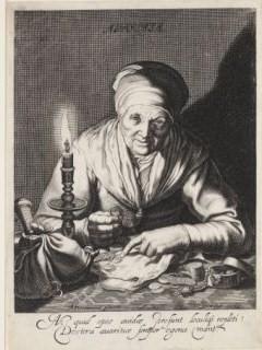 Cornelis Bloemaert after Abraham Bloemaert, Avaritia, ca. 1625. Rotterdam, Museum Boijmans Van Beuningen