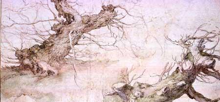 Abraham Bloemaert, Pollard willows. New York, Metropolitan Museum of Art