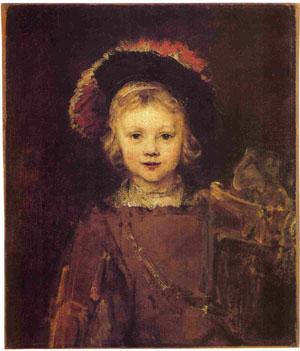 Rembrandt, Titus. Pasadena, Norton Simon Collection