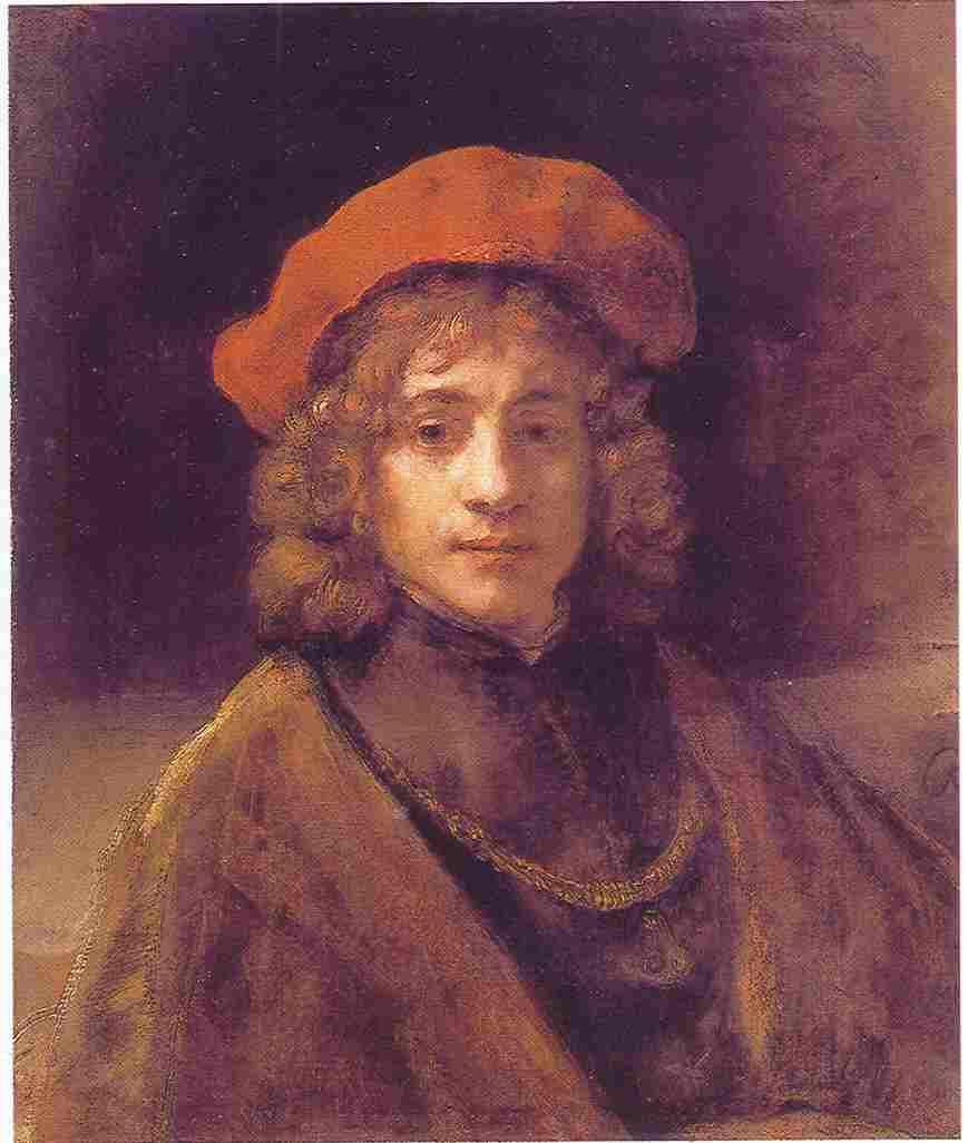 Rembrandt, Portrait of his son Titus. London, Wallace Colleciton