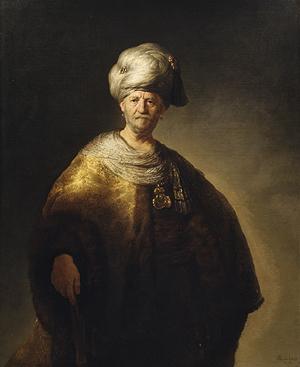 Rembrandt, The noble Slav, 1632. New York, Metropolitan Museum of Art