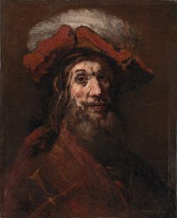 The crusader, attributed to Rembrandt van Rijn, ca. 1659-61, Copenhagen, Statens Museum for Kunst