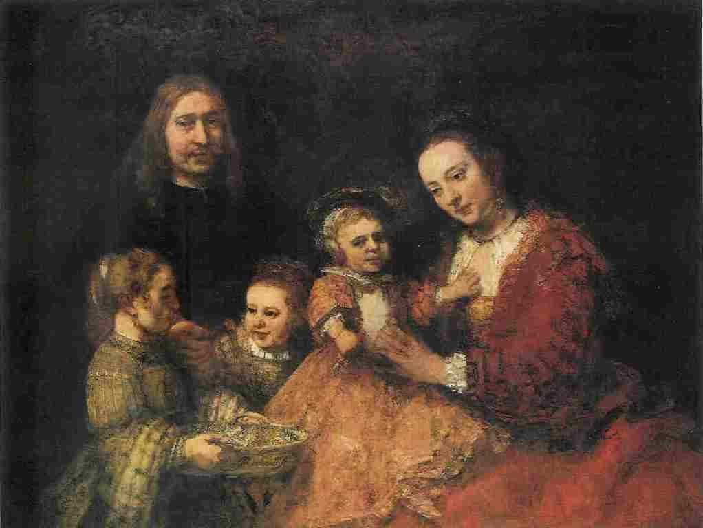 Rembrandt, Family portrait, 1660s, Braunschweig, Herzog Anton Ulrich-Museum