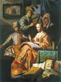 Rembrandt, Musical allegory. Amsterdam, Rijksmuseum
