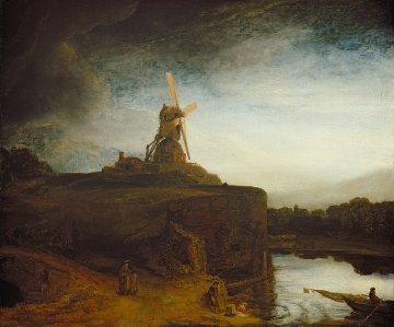 Rembrandt, The mill. Washington, National Gallery of Art