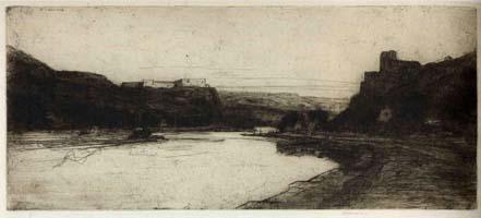 Sir David Young Cameron, The Meuse, 1907