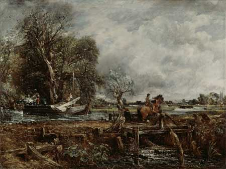 John Constable, The leaping horse, 1825. London, Royal Academy