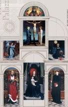 Gerard David, Cervara Altarpiece, reconstruction for exhibition in Genoa, 2005