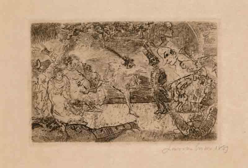 James Ensor, Het fantastisch bal, 1889