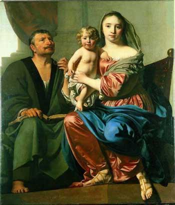 Cesar van Everdingen, Holy family. Utrecht, Museum Catharijneconvent
