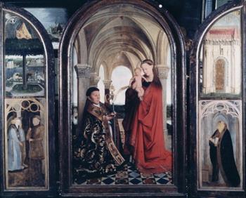 Copy of Jan van Eyck's lost Van Maelbeke Virgin, Ypres, first half of 17th century