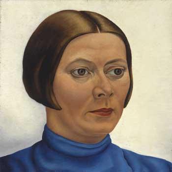 Edgar Ferntout, Portrait of Charley Toorop. Spanbroek, Scheringa Museum voor Realisme