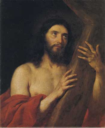 Govert Flinck, Christ with the Cross, 1649. Aachen, Suermondt-Ludwig Museum