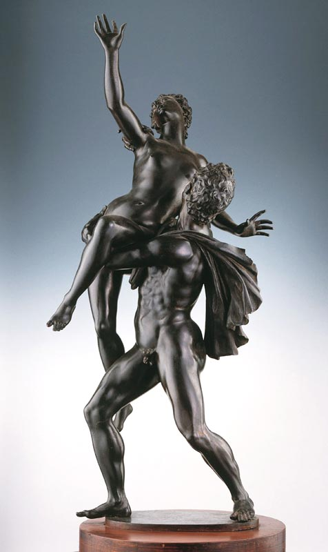 Giambologna, The rape of the Sabines, ca. 1581-83, Naples, Museo di Capodimonte