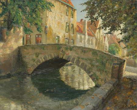 Albert Goethals, De Meebrug, Bruges