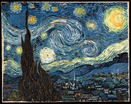 Vincent van Gogh, The starry