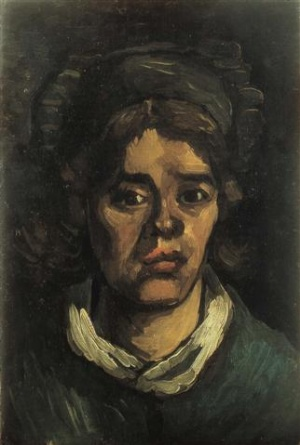 Vincent van Gogh, Head of a peasant woman. Den Bosch, Noordbrabants Museum