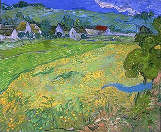 Vincent van Gogh, Les Vessenots, 1890. Madrid, Museo Thyssen-Bornemisza