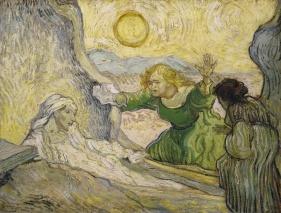 Vincent van Gogh, The raising of Lazarus, after Rembrandt, 1890, Amsterdam, Van Gogh Museum