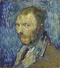 Vincent van Gogh, Self-portrait, ca. 1888, Oslo, National Museum of Art