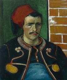 Vincent van Gogh, The Zoauve, 1888. Van Gogh Museum