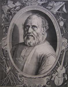 Hendrick Goltzius, portrait of Dirck Volckertsz. Coornhert