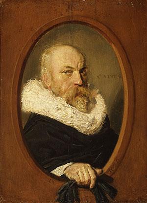 Frans Hals, Petrus Scriverius, 1626. New York, Metropolitan Museum of Art