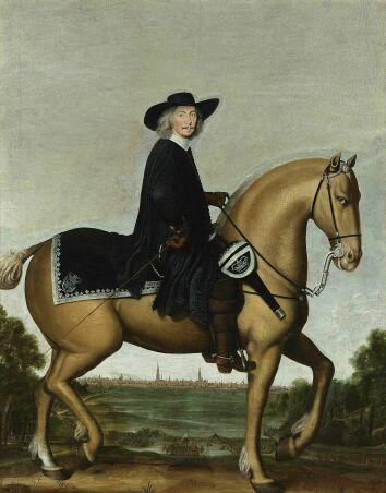 Bishop Bernhard Galen von Münster. Groningen, private collection