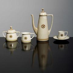 Chris Hoef, Mocca set, ca. 1910, Gemeentemuseum Den Haag