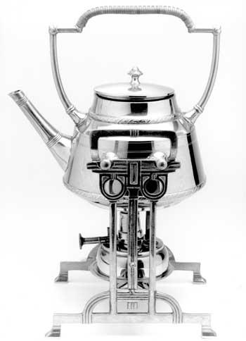 M. Huisenga, Silver teapot