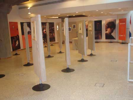 Rembrandt exhibiiton in the National Library, Tehran, December 2006