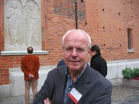 Jan Piet Filedt Kok on the CODART ACHT study trip, September 2005