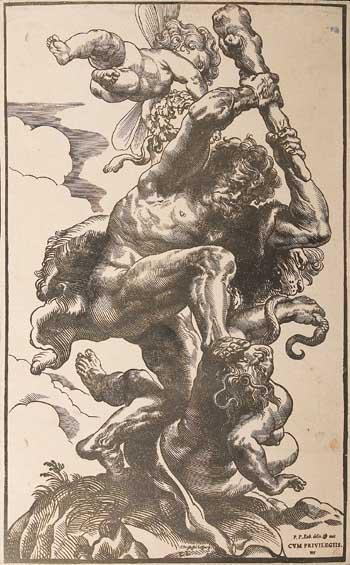 Christoffel Jeger after Pieter Paul Rubens, Hercules. Bucharest, National Museum