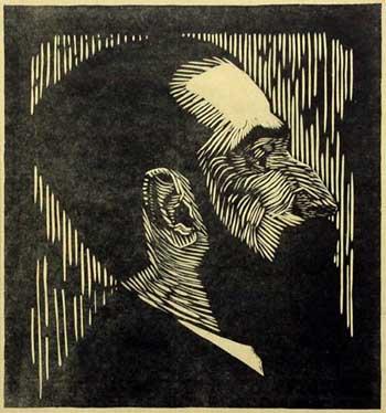 Samuel Jessurun de Mesquita, Piet Vorkink, 1919. From Wendingen