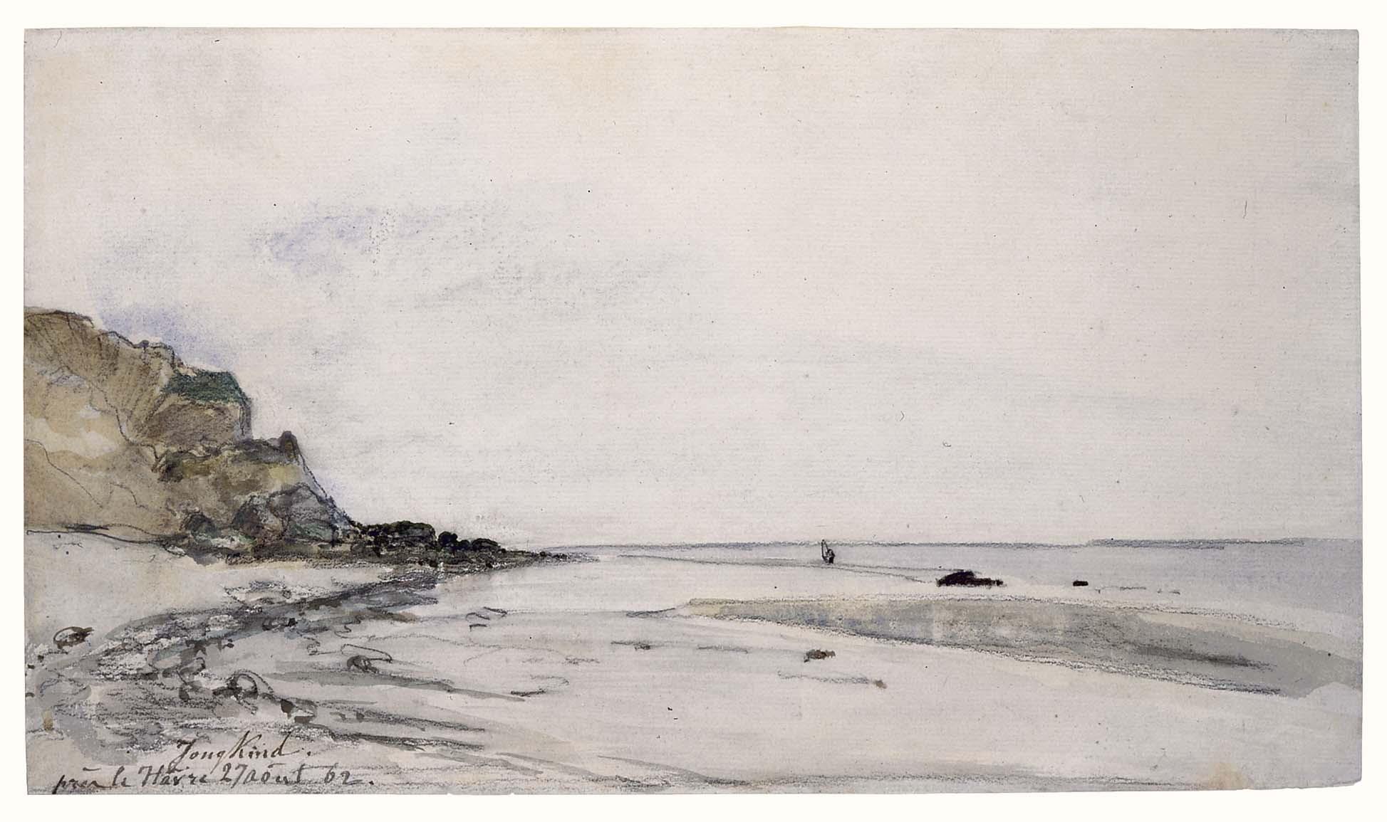 Johan Barthold Jongkind, Le Havre, 1862, Paris, Fondation Custodia (Collection Frits Lugt)