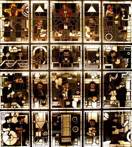 Harm Kamerlingh Onnes, <i>The making of a newspaper</i>,<br /> Leiden, Stedelijk Museum De Lakenhal