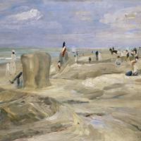 Max Liebermann, Beach at Noordwijk, 1908. Hannover, Niedersächsisches Landesmuseum