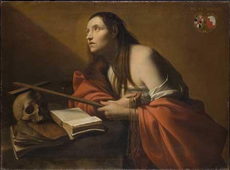 Ulrich Loth, The repentant Magdalen. Munich, Alte Pinakothek