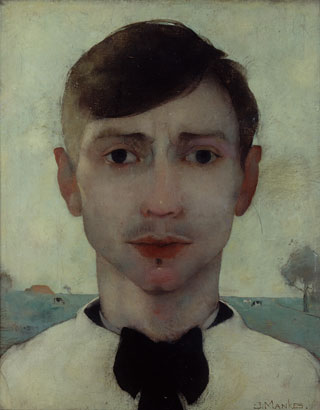 Jan Mankes, Self portrait, 1913