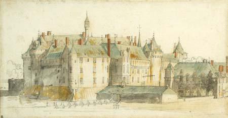 Adam Frans van der Meulen, Château de Chantilly, ca. 1665. Chantilly, Musée Condé