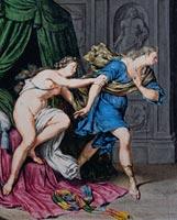 Willem van Mieris, Joseph and Potiphar's wife, New York, Morgan Library