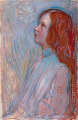Piet Mondriaan, Devotion, 1908, The Hague, Haags Gemeentemuseum