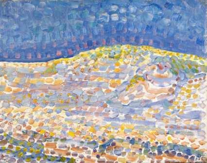 Piet Mondriaan, Duin II, 1909. The Hague, Gemeentemuseum Den Haag