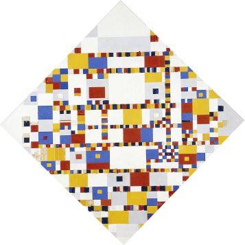 Piet Mondrian, Victory Boogie-Woogie. The Hague, Gemeentemuseum Den Haag