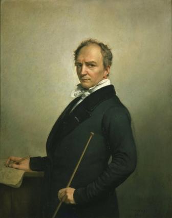 Francois-Joseph Navez, Self portrait, 1854. Antwerp, Koninklijk Museum voor Schone Kunsten